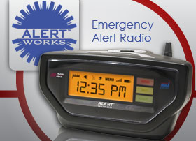 Alert Works EAR-10 Emergency Alert Weather Radio with SAME.